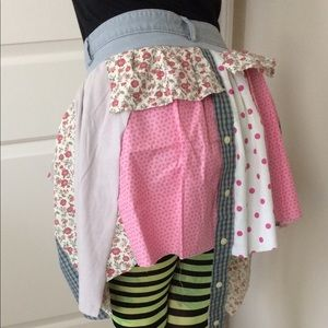 Floral Fairy 🧚♀️ Patchwork Circus Skirt